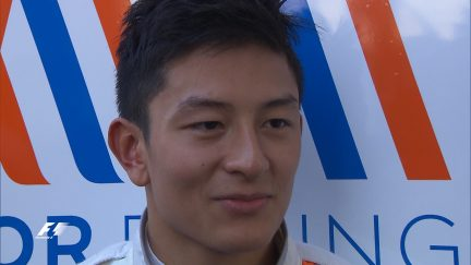 Haryanto makes F1 history for Indonesia