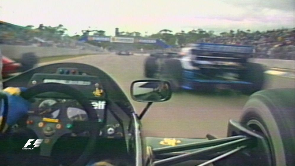 Classic onboard: Johnny Dumfries, Adelaide 1986