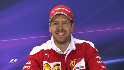 Sebastian Vettel interview nach dem Qualifying in Australien