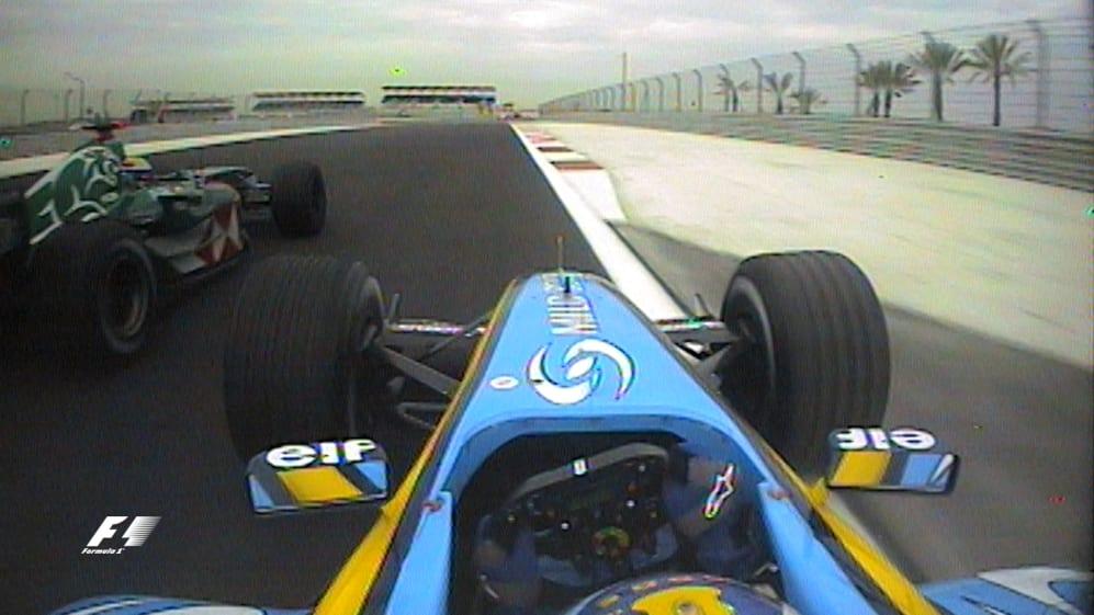 Classic onboard: Fernando Alonso, Bahrain 2004
