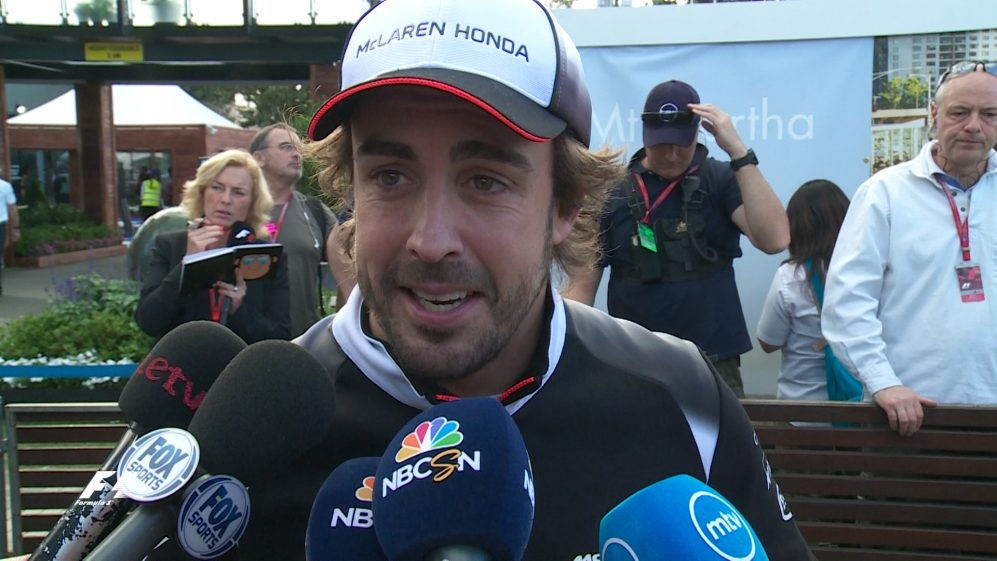 Alonso 'thought about mum' after crash