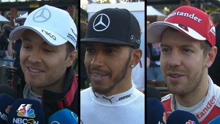 Drivers' thoughts on dramatic Australian GP