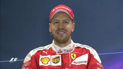 Sebastian Vettel interview nach dem Qualifying in Russland 2016