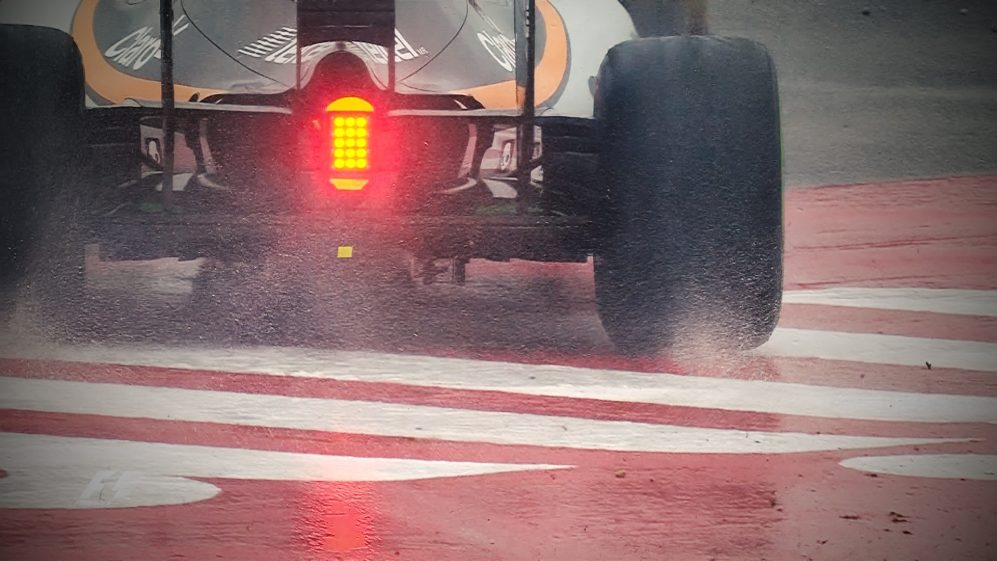 The best action from a wet final practice in China