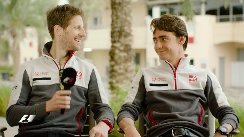 Grosjean and Gutierrez on a dramatic F1 start for Haas