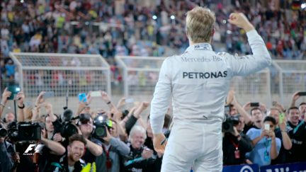 Rosberg takes his fifth consecutive win in Bahrain