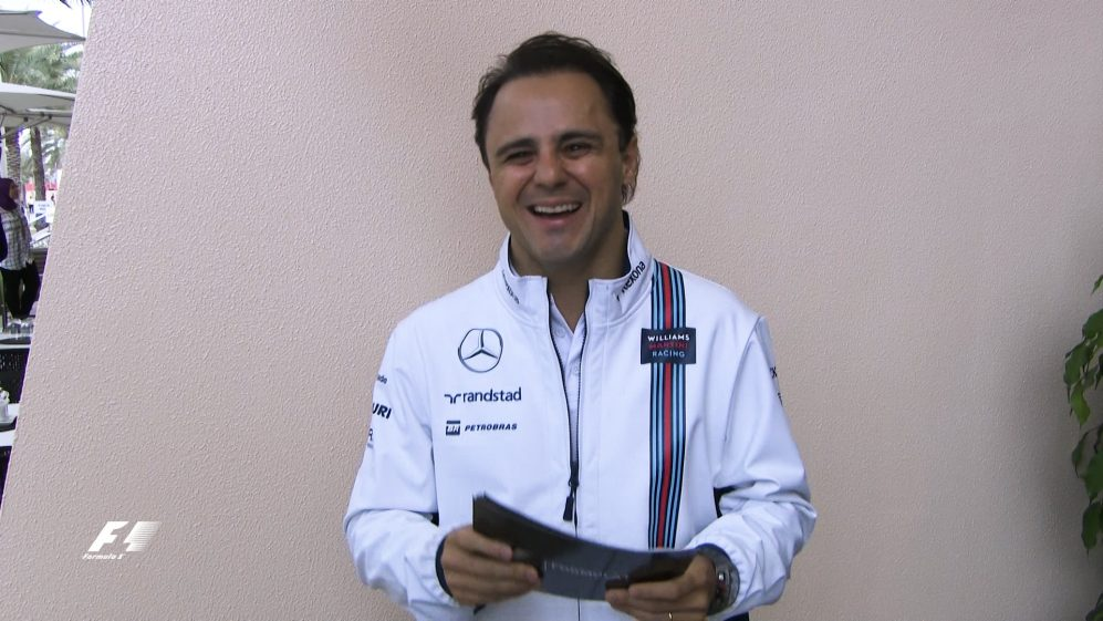 Grill the grid - Felipe Massa