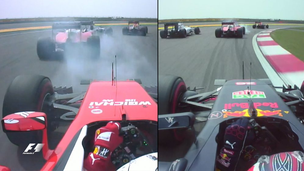 Torpedo or terrific? Onboard with Kvyat and Vettel at Turn 1