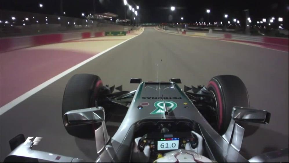 Hamilton's pole lap - the fastest ever in Bahrain