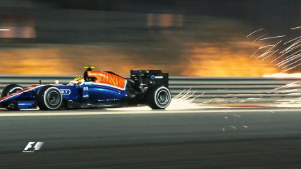 Speed and sparks from the opening day in Sakhir