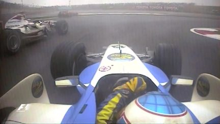 Classic onboard: Button's final lap, 2006