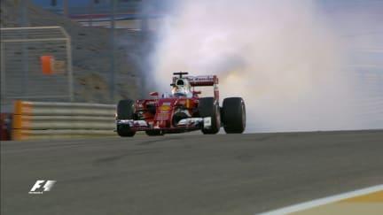 Race: Disaster for Vettel before the race start