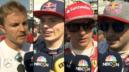 The F1 paddock reports back after a nail-biting race in Spain