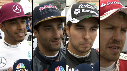 Drivers report back after epic race in Monaco