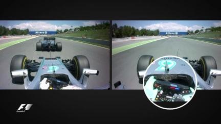 Mercedes mayhem: analysing Hamilton and Rosberg's Turn 4 clash