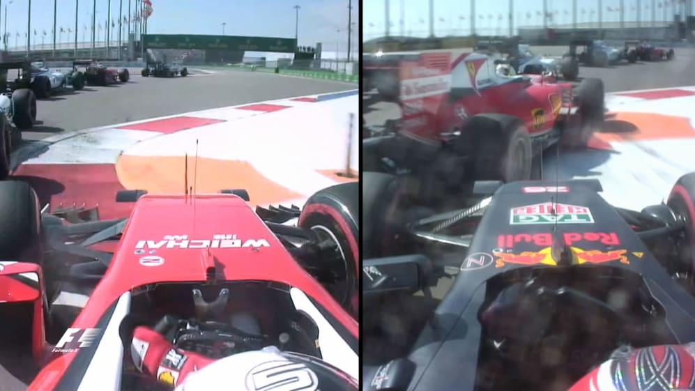 Twice in two races - Kvyat and Vettel's Sochi shunts analysed