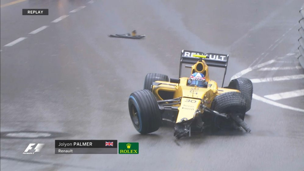 Race: Palmer's Monaco weekend ends badly