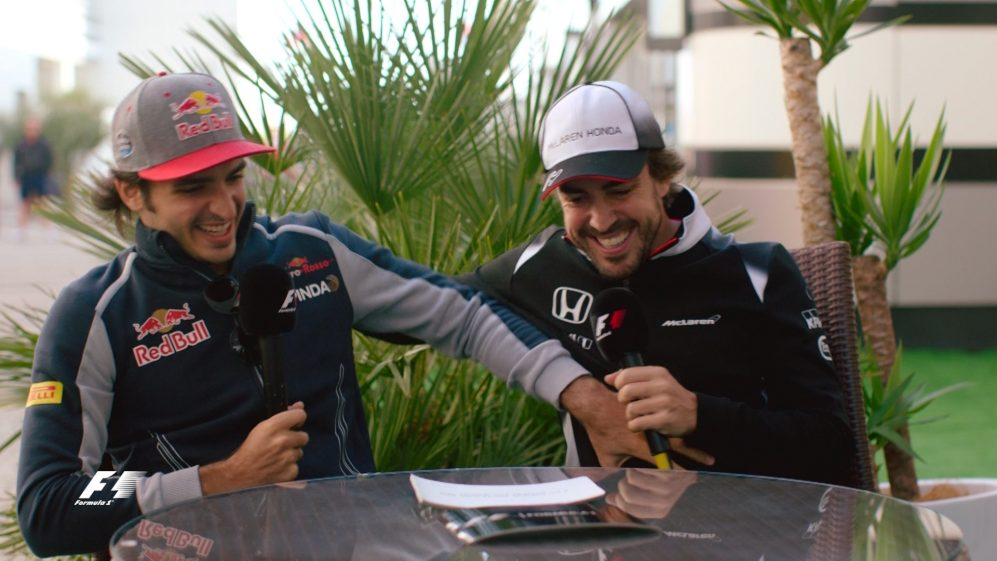 Alonso and Sainz: A special Q+A