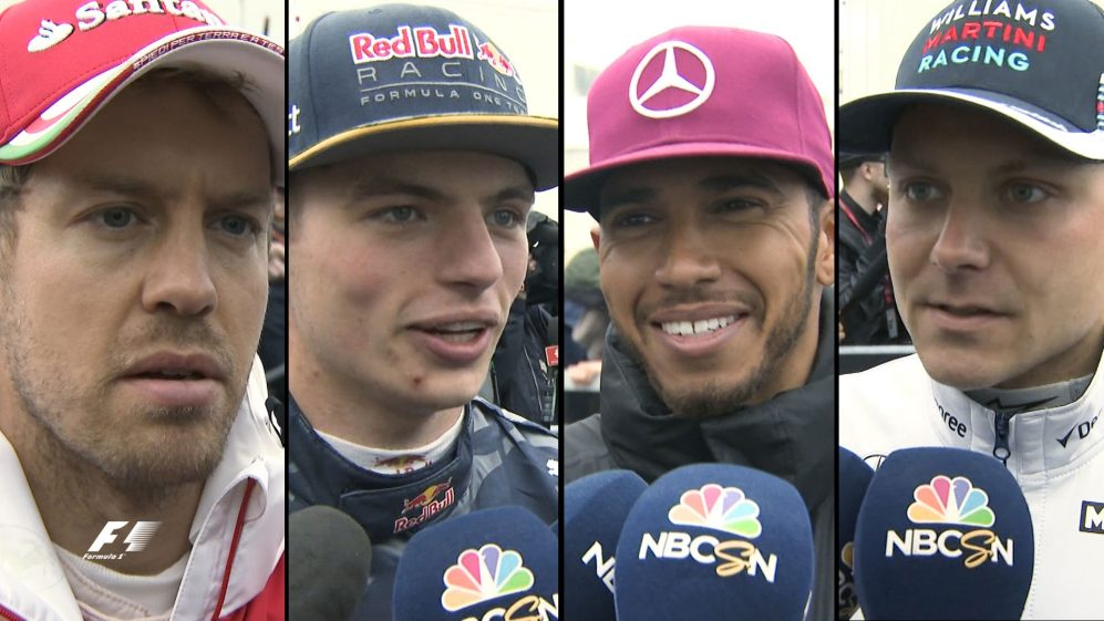 Drivers report back after the Canadian Grand Prix
