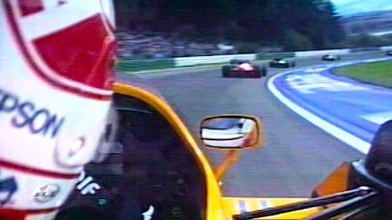Classic onboard: Satoru Nakajima, Osterreichring 1987
