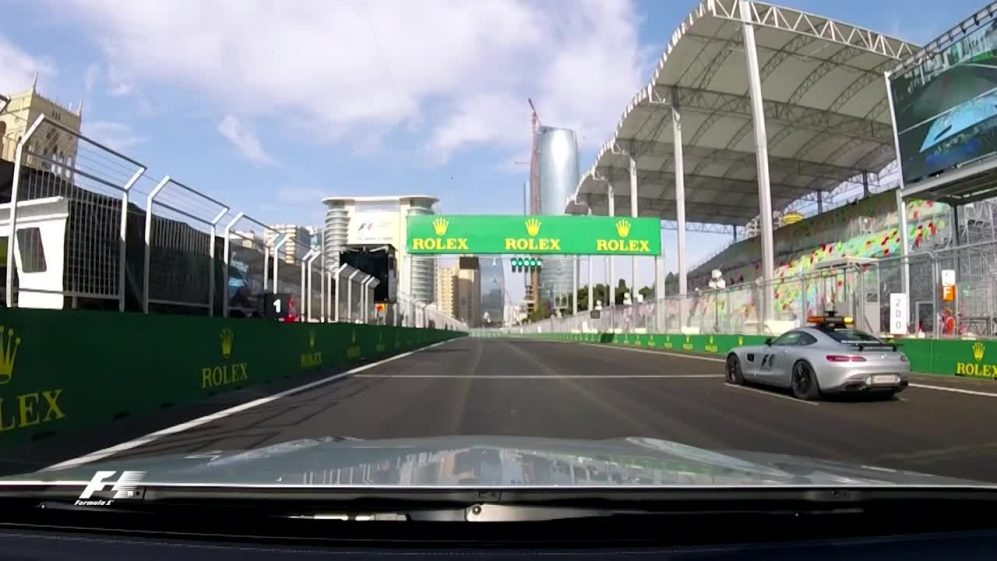 Exclusive - the Medical Car takes us on a lap of Baku