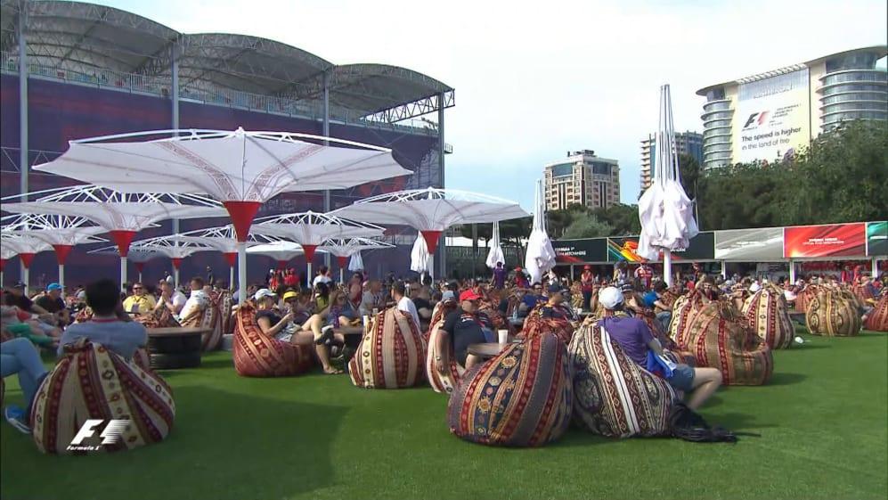 Action meets culture in Baku's F1 Fan Village