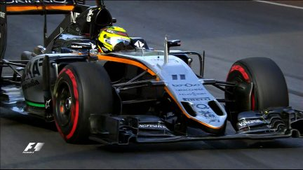 Your Driver of the Day for Europe - Sergio Perez