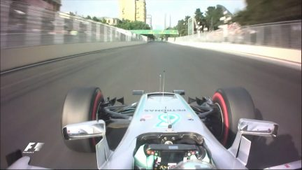 Onboard pole position lap - Nico Rosberg, Europe 2016