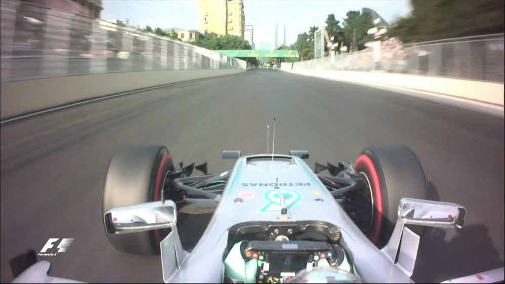Onboard pole position lap - Nico Rosberg, Europe 2016