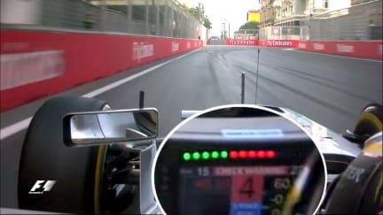 Dashboard dilemmas - how Hamilton's Baku race came undone