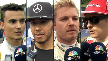 Drivers report back after dramatic race in Austria