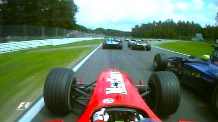 Classic onboard: Rubens Barrichello, Hockenheim 2000