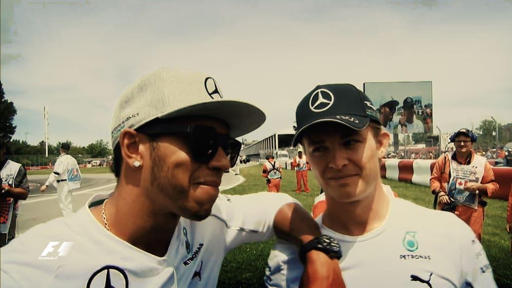 Hamilton vs Rosberg: the showdown
