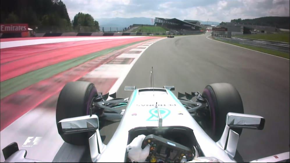 Onboard pole position lap - Lewis Hamilton, Austria 2016
