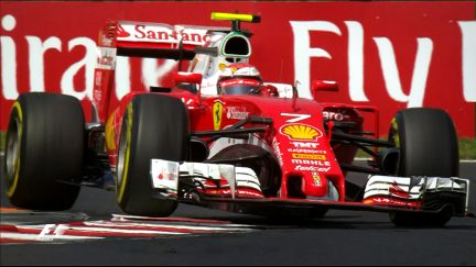Your Driver of the Day for Hungary - Kimi Raikkonen