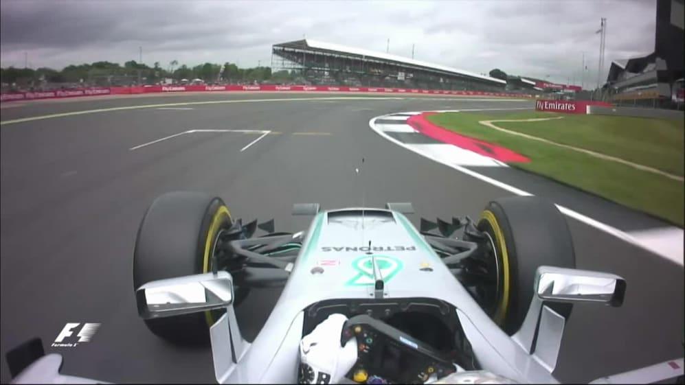 Onboard pole position lap - Lewis Hamilton, Great Britain 2016