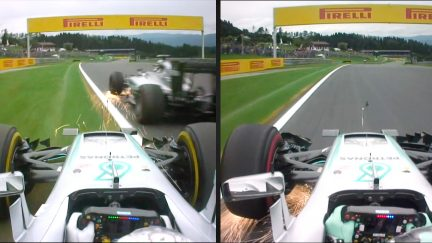 Accident or aggression? Hamilton and Rosberg's Austrian collision explained