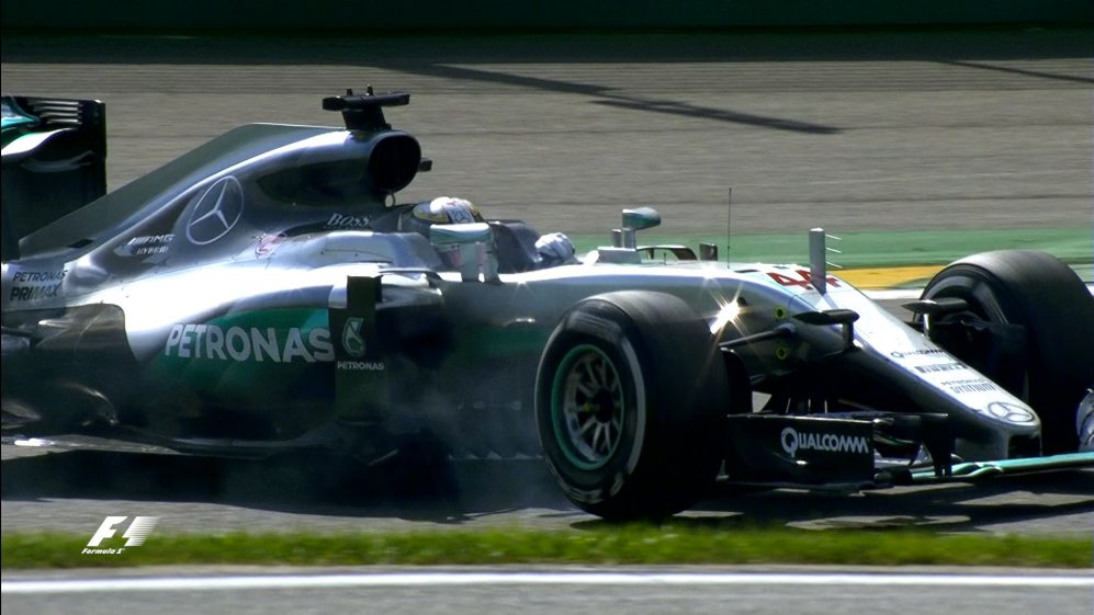 Your Driver of the Day for Belgium - Lewis Hamilton