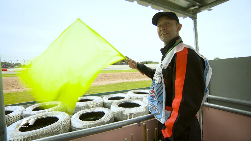 Behind the scenes: a day in the life of an F1 marshal