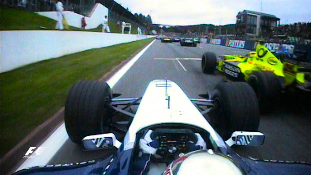 Classic onboard: Juan Pablo Montoya, Spa-Francorchamps 2001