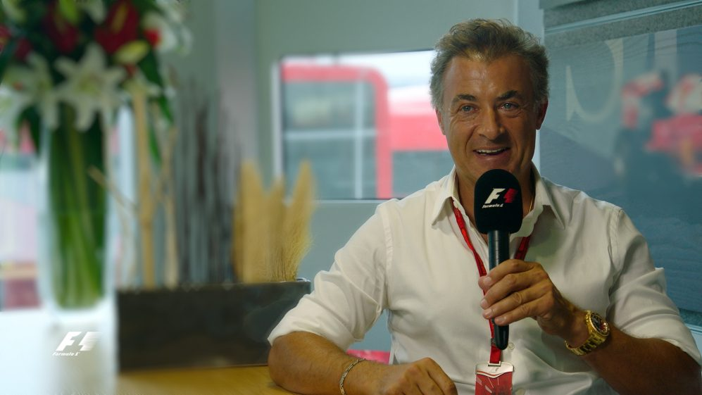 Grill the grid special - Alesi on Monza