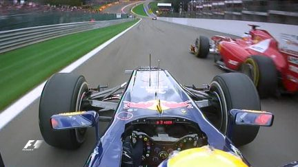 Five of the best overtakes at Spa-Francorchamps