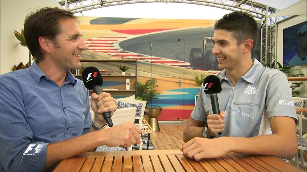 Esteban Ocon reflects on F1 debut