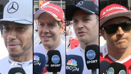 Drivers report back after qualifying in Italy