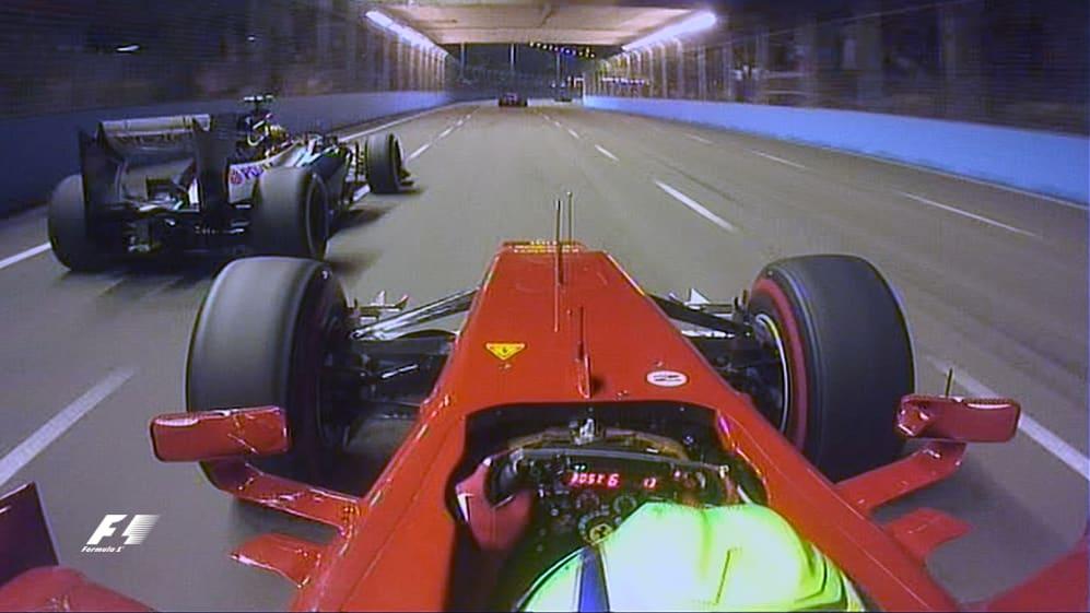 Classic onboard: Felipe Massa, Marina Bay Street Circuit 2012