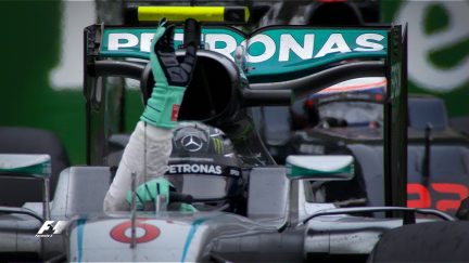 Your Driver of the Day for Italy - Nico Rosberg