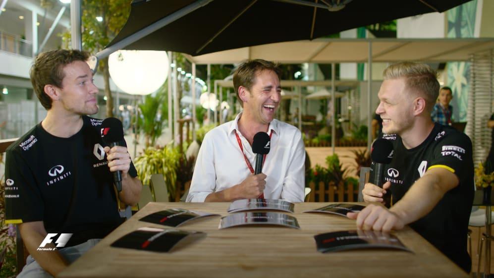 Test your team mate - Palmer vs Magnussen