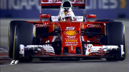 Your Driver of the Day for Singapore - Sebastian Vettel