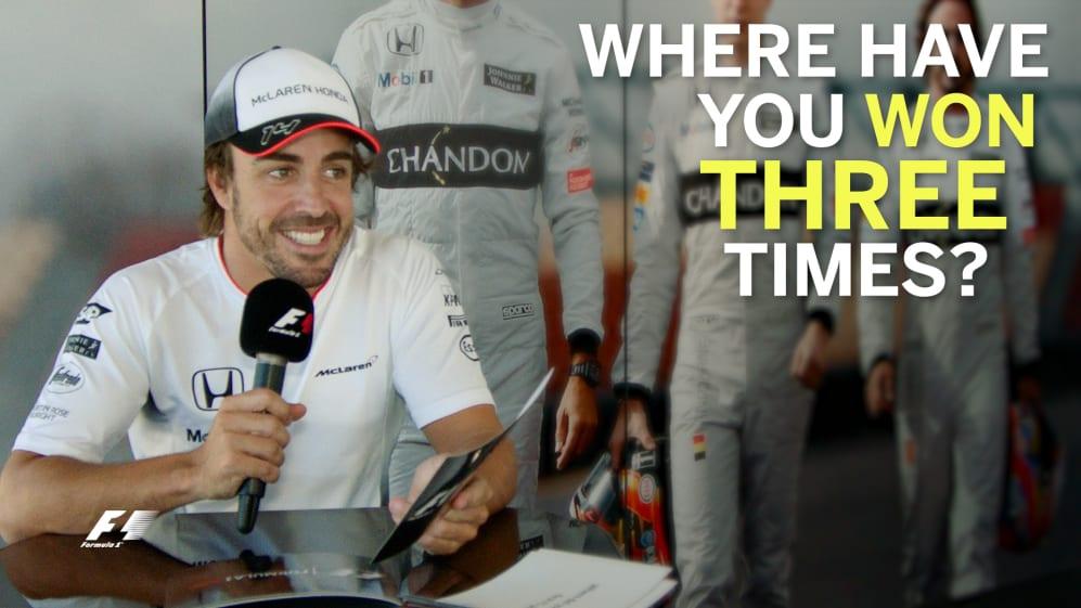 Grill the grid - Fernando Alonso