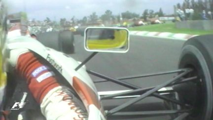 Classic onboard: Alboreto's bumpy opening lap of Mexico